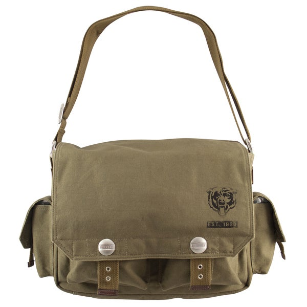 Little Earth Chicago Bears Prospect Messenger Bag