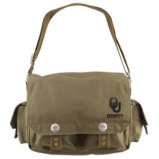 Little Earth Oklahoma Sooners Prospect Messenger Bag