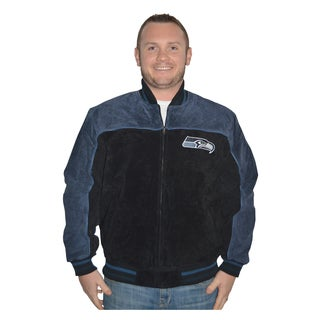 Seattle Seahawks NFL Suede Leather Jacket