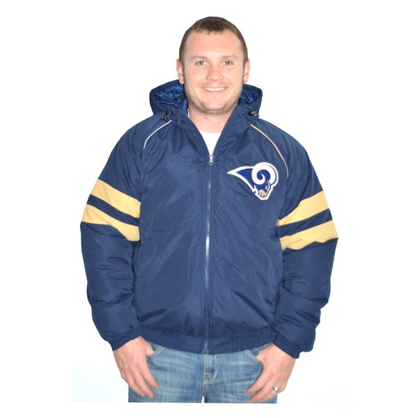 St. Louis Rams NFL Heavyweight Hooded Jacket