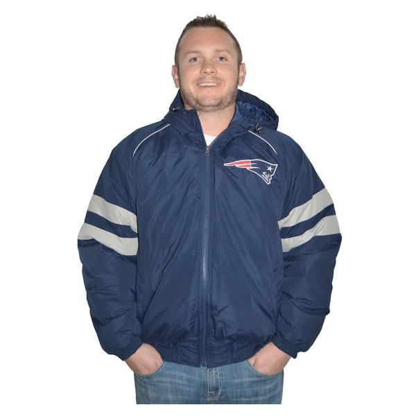New England Patriots NFL Heavyweight Hooded Jacket