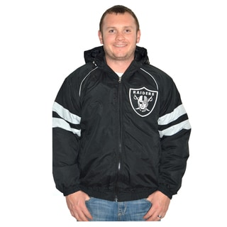Oakland Raiders NFL Heavyweight Hooded Jacket