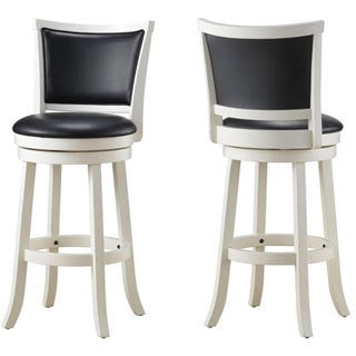 Cabot Solid Wood Swivel Counter Stool (Set of 2)