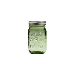 Ball Heritage Collection Pint Jars Spring Green (Set of 6)