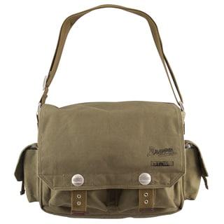 Little Earth Atlanta Braves Prospect Messenger Bag