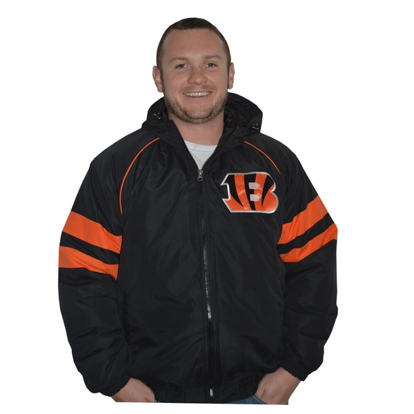 Cincinnati Bengals NFL Heavyweight Hooded Jacket