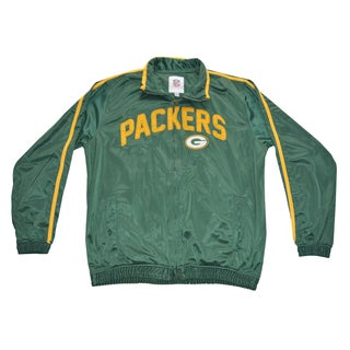 Green By Packers NFL Track Jacket