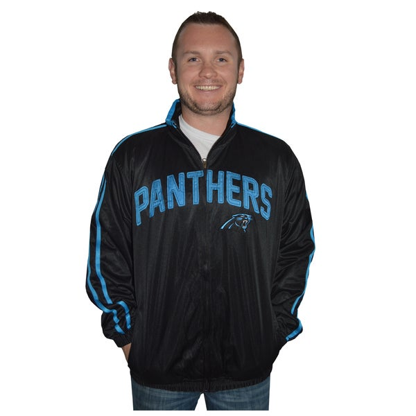 Carolina Panthers NFL Track Jacket