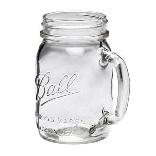 Ball Mason Jar Regular Mouth Drinking Mug 16oz, 8pk