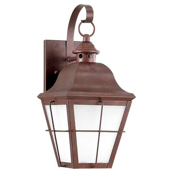 Fluorescent One-light Outdoor Wall Lantern Fixture