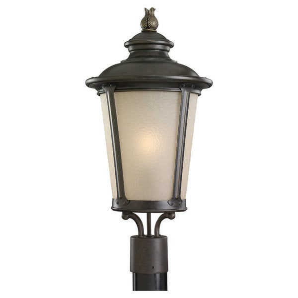 Two-light Outdoor Wall / Ceiling Lantern Fixture