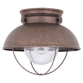 Single-light Sebring Outdoor Ceiling Fixture