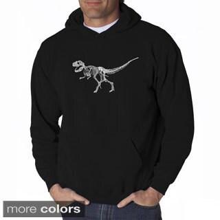 Men's T-Rex Skeleton Hooded Sweatshirt