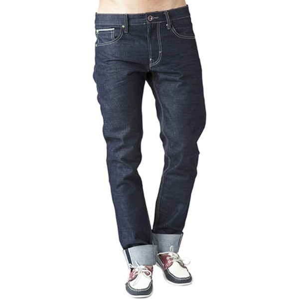 Simple Living High Thinking Men's Raw Denim Jeans