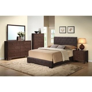 Ireland Brown PU Bed