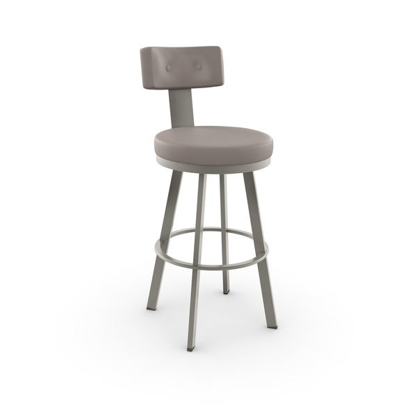 Amisco Tower Swivel Metal Bar Stool