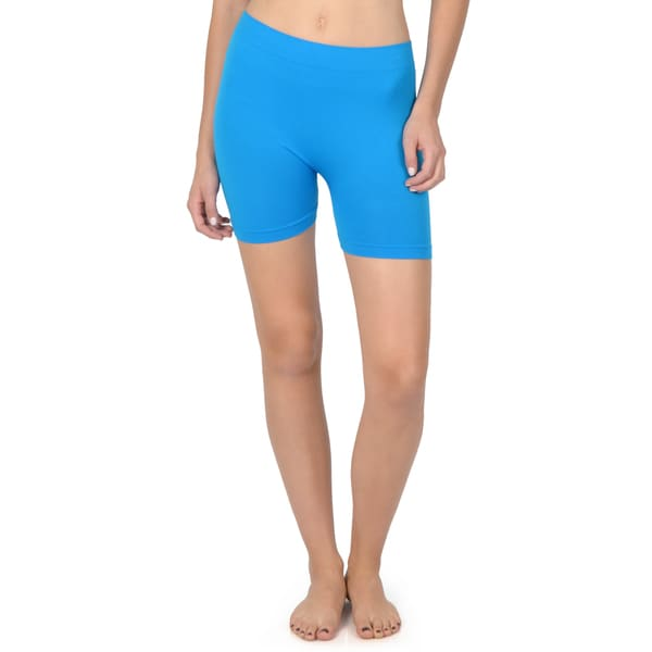 Hailey Jeans Co. Junior's Seamless Biker Shorts