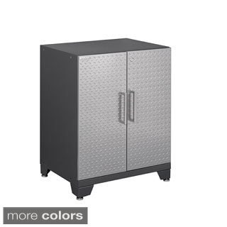 NewAge Products Performance Plus Diamond Plate 2-door Base Cabinet
