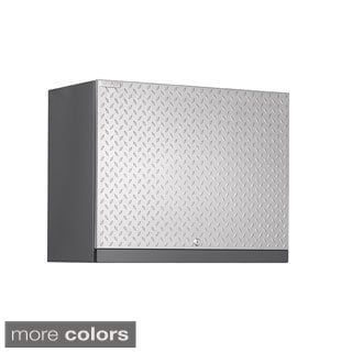 NewAge Products Performance Plus Diamond Plate Wall Cabinet