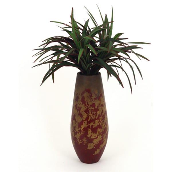 Gala Gala Silk Yucca Plant with Ceramic Vase