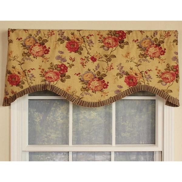 Ellington Cornice Cotton Window Valance