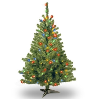 4-foot Kincaid Spruce Tree with 100 Multi Lights