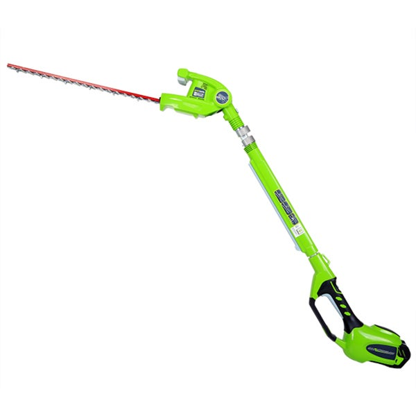 GreenWorks 22272 G-MAX 40V Li-Ion 24-Inch Cordless Pole Hedge Trimmer