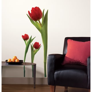 Tulips Peel and Stick Wall Decals