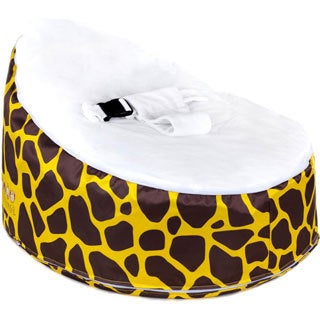 Totlings Snugglish Gold Meadows Velvet Top Baby Lounger