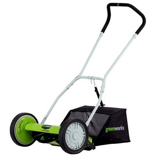 Greenworks 16-inch Reel Lawn Mower