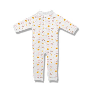 Spencer's Footless Butterflies Sleep N' Play Pajamas