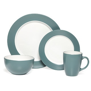 Pfaltzgraff Everyday Harmony 16-piece Turquoise Dinnerware Set