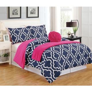 Geometric 5-Piece Comforter Set