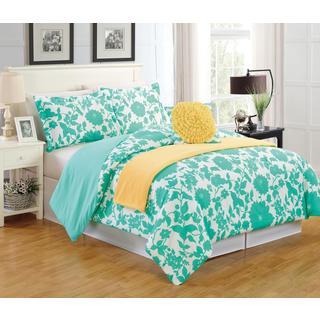 Floral 5-Piece Comforter Set