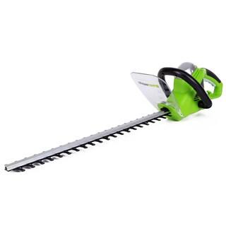 GreenWorks 2200102 4Amp 22-Inch Hedge Trimmer