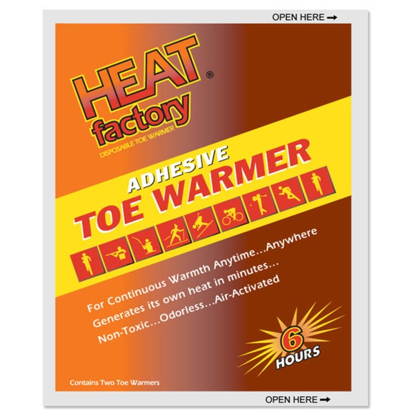 Heat Factory Toe Warmer (Box of 30)