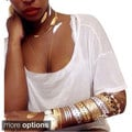 As Seen On TV Metallic Gold and Silver Jewelry Temporary Tattoo