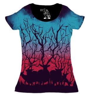 Women's Deer Forest Short Sleeve Top