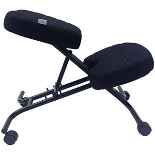 Sierra Comfort SC-210 Black Ergonomic Kneeling Chair