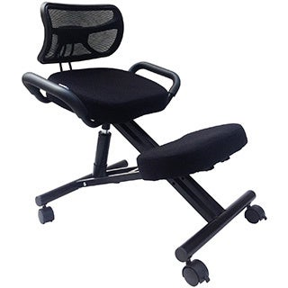 Sierra Comfort SC-300 Ergonomic Kneeling Chair with Back Rest