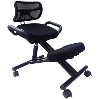 Sierra Comfort SC-300 Ergonomic Kneeling Chair with Back Rest