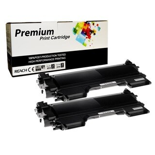 Replacement TN450 Black Toner Cartridge for Brother Printers (Pack of 2)