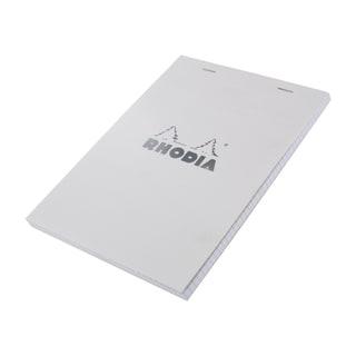 Rhodia Classic Ice Top 8.25-inch Staplebound Grid Paper Notepad
