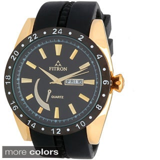 Fitron Men's 7573M Stainless Steel Watch