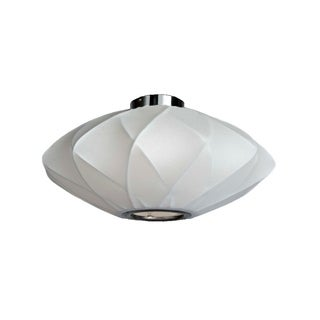 Legion Furniture Semi-flush 25-inch Ceiling Cocoon Lamp
