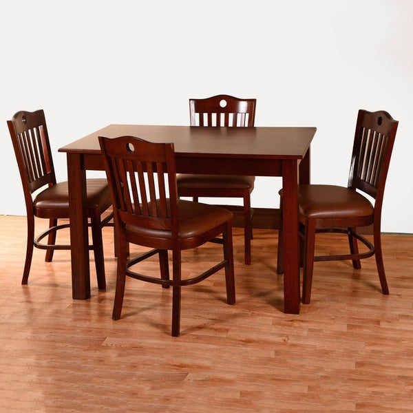 Peek-a-boo 5-piece Dining Set