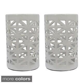 Ceramic Lanterns (Set of Two)