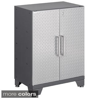 Newage Products Performance Diamond Plate Two Door Base Cabinet