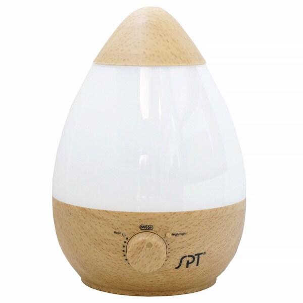 Ultrasonic Wood Grain Humidifier with Fragrance Diffuser