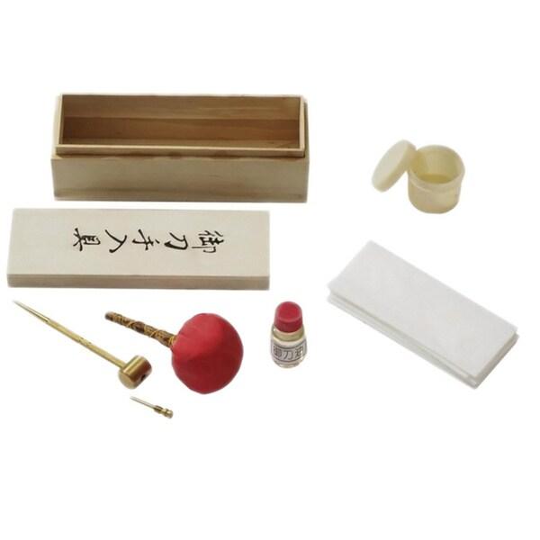 Japanese Samurai Sword Cleaning Kit